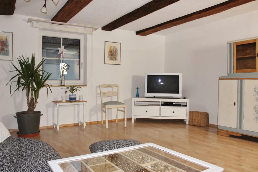 Fernsehecke im Wohnzimmer