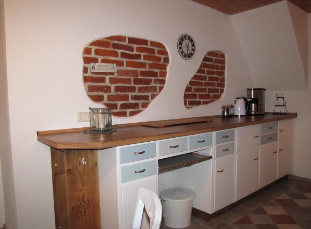 Rustikal-chic in der Küche